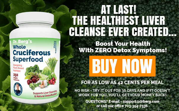 Organic Cruciferous Food Regular - Dr  Berg