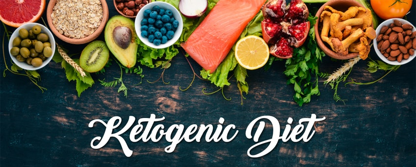 a variety of food for a healthy ketogenic diet