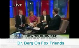 Dr. Berg on Fox Friends