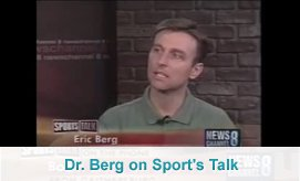 Dr. Berg on Sports Talk
